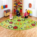 Back to Nature™ Large Corner Bugs Carpet,Corner Bug Placement Carpet Large,Educational Supplies | Large Bug Corner Placement Carpet